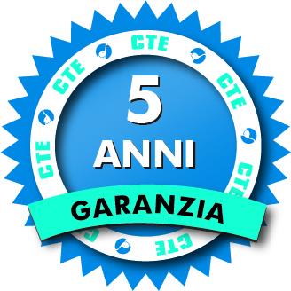 logo garanzia 5 anni